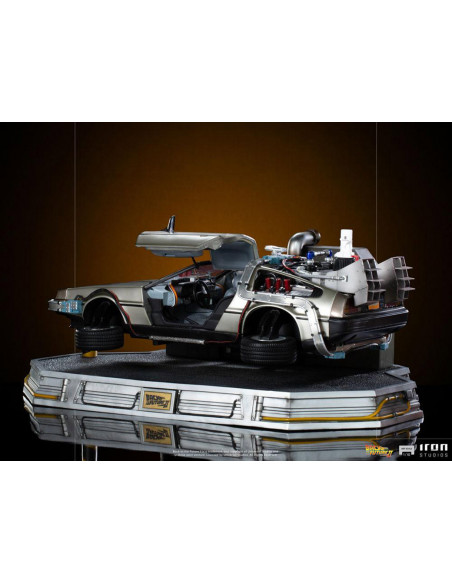 es::Regreso al Futuro II Estatua 1/10 Art Scale DeLorean 58 cm