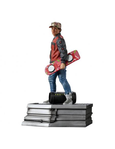 es::Regreso al Futuro II Estatua 1/10 Art Scale Marty McFly 22 cm