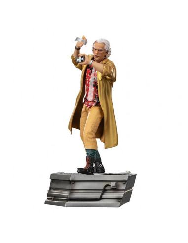 es::Regreso al Futuro II Estatua 1/10 Art Scale Doc Brown 25 cm