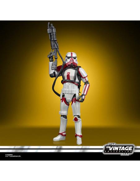 es::Star Wars The Mandalorian Vintage Collection Carbonized Figura 2021 Incinerator Trooper 10 cm