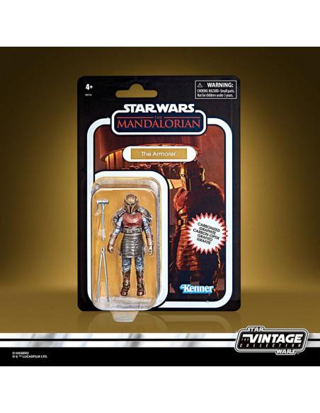 es::Star Wars The Mandalorian Vintage Collection Carbonized Figura 2021 The Armorer 10 cm