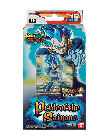 es::Dragon Ball Super Card Game: Pride of the Saiyans - Starter Deck 15