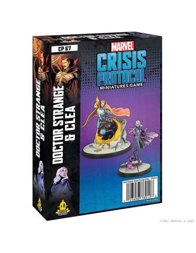 es::Marvel Crisis Protocol: Doctor Strange & Clea EN Inglés