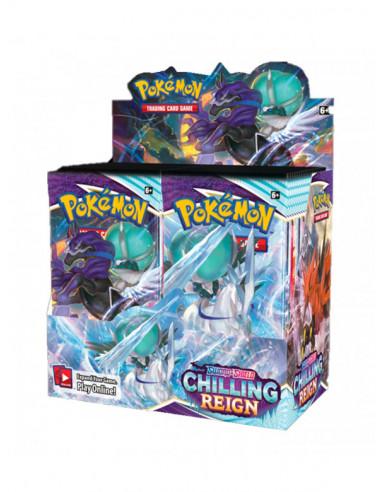 es::Pokémon Sword and Shield Chilling Reign 1 sobre