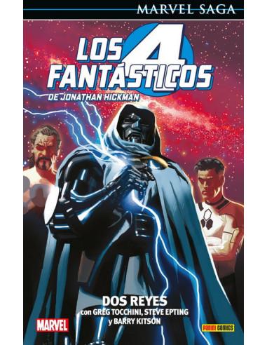 es::Marvel Saga. Los 4 Fantásticos de Jonathan Hickman 05. Dos Reyes