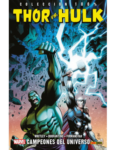 es::Thor Vs. Hulk: Campeones del universo Cómic 100% Marvel
