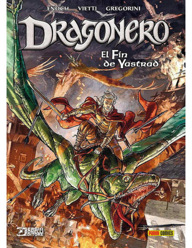 Dragonero 05. El fín de Yastrad