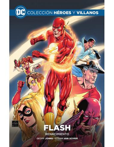 es::Colección Héroes y villanos vol. 04 - Flash: Renacimiento