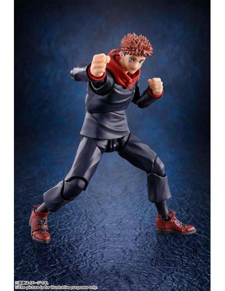 es::Jujutsu Kaisen Figura S.H. Figuarts Yuji Itadori 15 cm-1