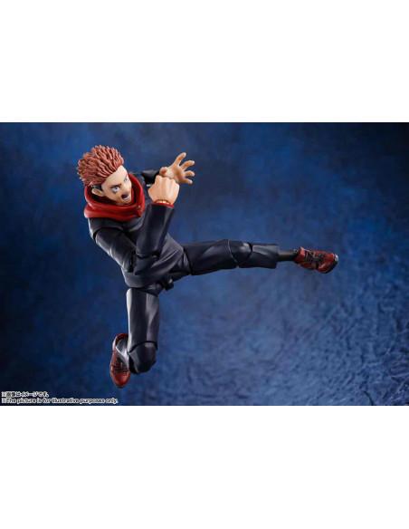 es::Jujutsu Kaisen Figura S.H. Figuarts Yuji Itadori 15 cm-3