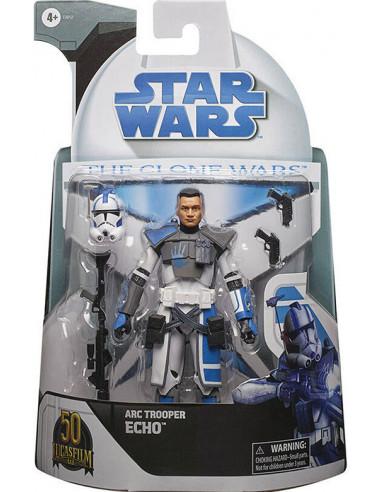 es::Star Wars Black Series Figura ARC Trooper Echo Clone Wars Lucasfilm 50th 15 cm-0