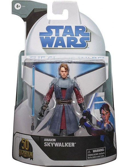 es::Star Wars Black Series Figura Anakin Skywalker Clone Wars Lucasfilm 50th 15 cm