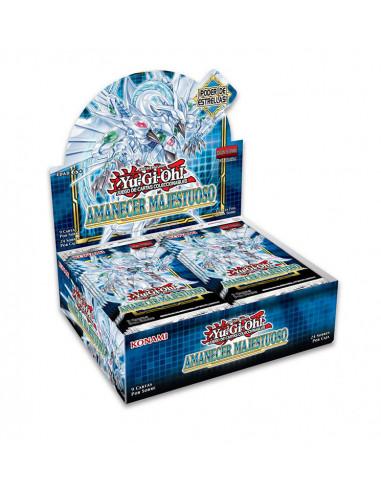 es::Yu-Gi-Oh! Amanecer Majestuoso 1 caja de 24 sobres
