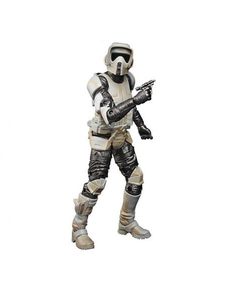 es::Star Wars The Mandalorian Black Series Carbonized Figura 2021 Scout Trooper 15 cm-0