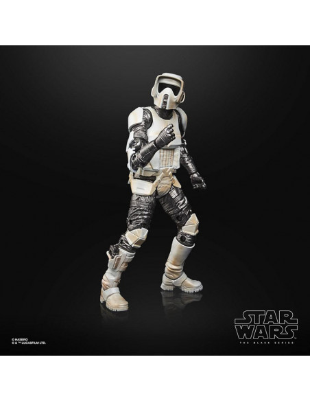 es::Star Wars The Mandalorian Black Series Carbonized Figura 2021 Scout Trooper 15 cm-1