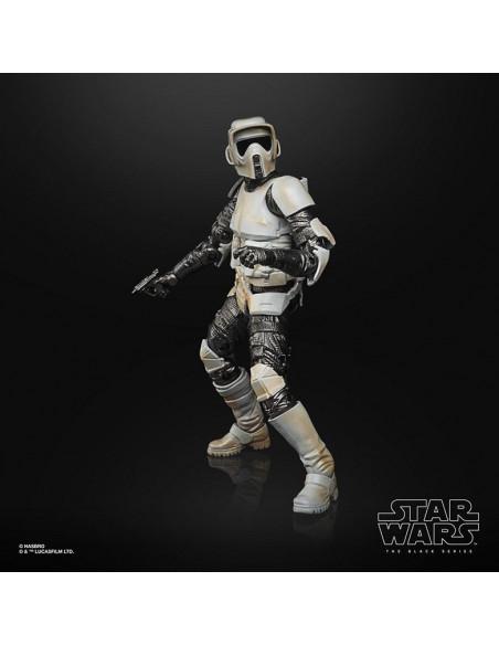 es::Star Wars The Mandalorian Black Series Carbonized Figura 2021 Scout Trooper 15 cm-2