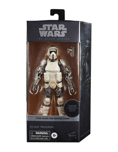 es::Star Wars The Mandalorian Black Series Carbonized Figura 2021 Scout Trooper 15 cm-3
